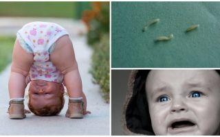 어린이의 핀울 웜의 증상과 치료